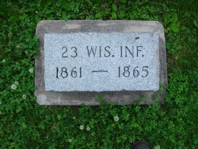 Related Marker on Camp Randall Grounds image. Click for full size.