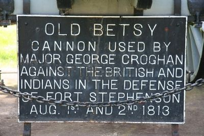 Old Betsy Marker image. Click for full size.