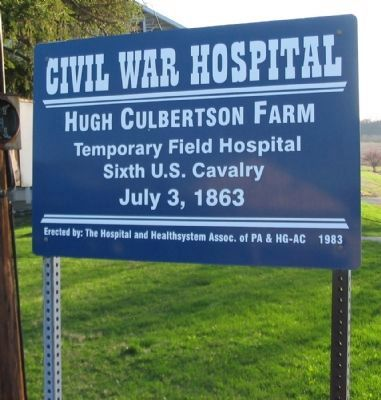 Hugh Culbertson Farm Marker image. Click for full size.