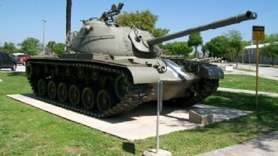 "M-48 Medium Tank 90mm ""Patton"" and Marker image. Click for full size."