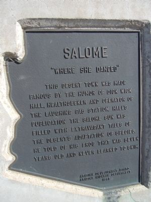Salome Marker image. Click for full size.