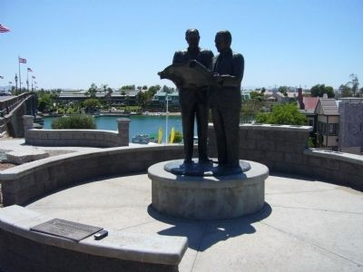 City Founders - Lake Havasu City, Arizona image. Click for full size.