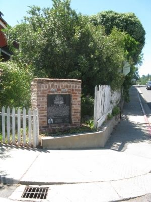 Sugg House Marker Photo, Click for full size