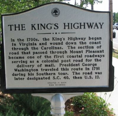 The King's Highway Side image. Click for full size.