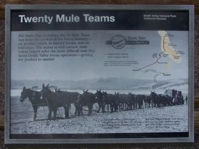 Twenty Mule Teams image. Click for full size.