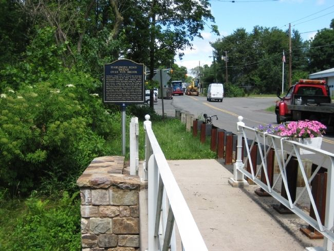 Harlingen Road Bridge Marker image. Click for full size.