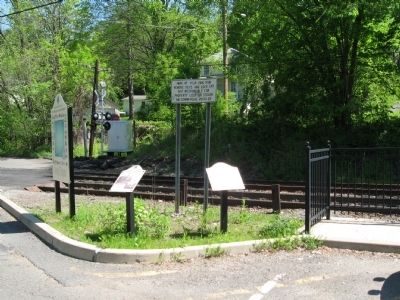 Branchville – A Center of Italian–American Life Marker image. Click for full size.