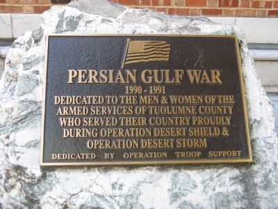 Persian Gulf War Marker image. Click for full size.
