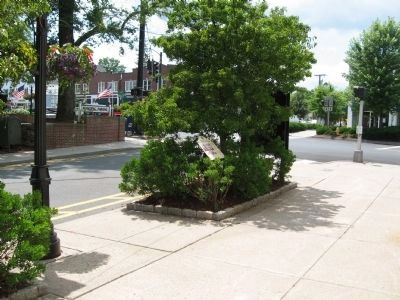 Bailey Avenue: A Short-Cut to the Train Station Marker Photo, Click for full size