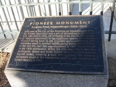 Pioneer Monument Marker Panel 1 image. Click for full size.
