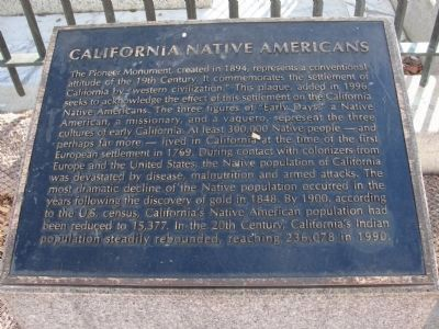 California Native Americans Marker image. Click for full size.