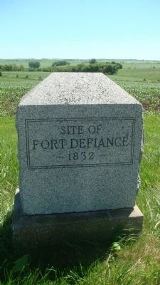 Nearby Fort Defiance Marker image. Click for full size.