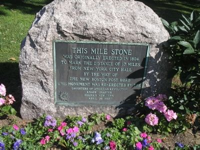 This Mile Stone Marker image. Click for full size.