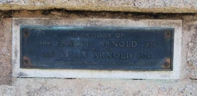 Arnold Memorial Marker image. Click for full size.