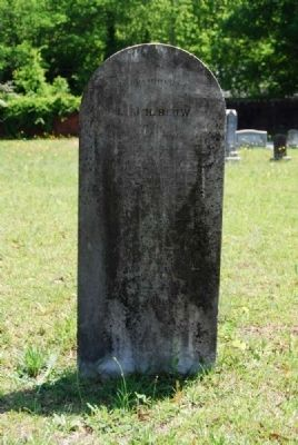 Lt. J.H. Blow Tombstone image. Click for full size.