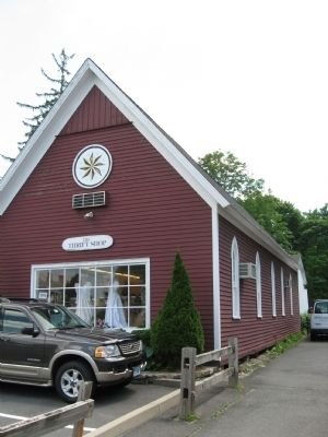 The church building, built in 1879, is a thrift shop today. image. Click for full size.