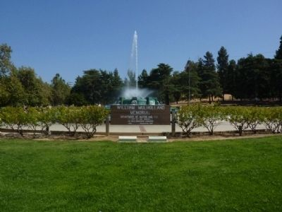 The Mulholland Memorial Fountain Photo, Click for full size