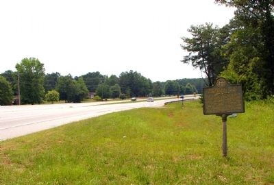 Birthplace of a Confederate Hero Marker Photo, Click for full size