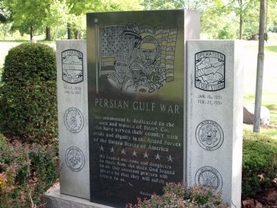 Full View - - Persian Gulf War Memorial Marker image. Click for full size.