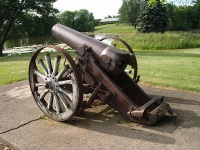 Left View - - 1893 Field Gun (Krupp) image. Click for full size.