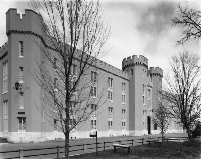 Virginia Military Institute Barracks image. Click for full size.
