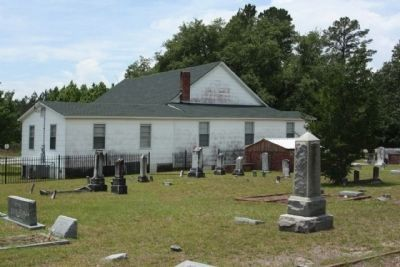 Salem Methodist Church and Cemetery image. Click for full size.