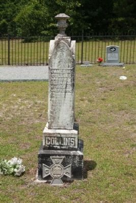 Salem Methodist Church Cemetery, Confederate Veteran image. Click for full size.