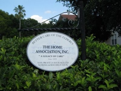 The Home Association, Inc. Sign image. Click for full size.