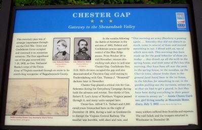 Chester Gap Marker image. Click for full size.