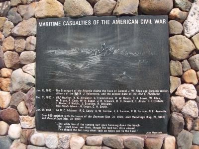 Maritime Casualties of the American Civil War Marker image. Click for full size.