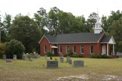 Green Pond United Methodist Church with Cemetery image. Click for full size.