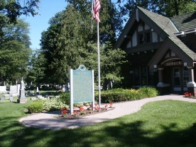 Clinton Grove Cemetery Office image. Click for full size.