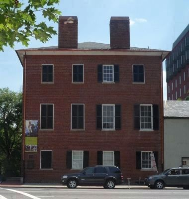 The newly renovated Decatur House - viewed from across H Street image. Click for full size.