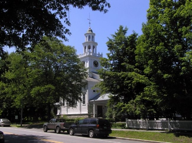 The First Congregational Church of Woodstock image. Click for full size.