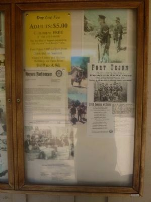 Fort Tejon Historic Activities image. Click for full size.