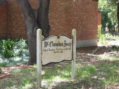 McClanahan House sign image. Click for full size.