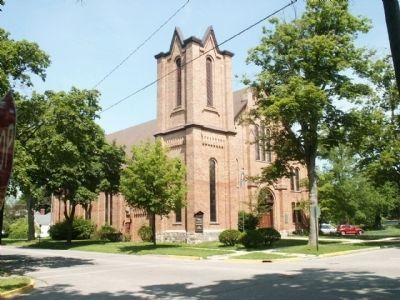 College Baptist Church from the southeast image. Click for full size.