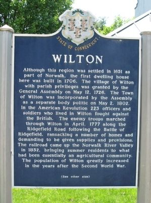 Wilton Marker image. Click for full size.