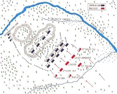 The Battle of Cowpens image. Click for full size.