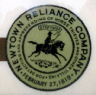 Newtown Reliance Company Logo image. Click for full size.