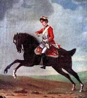 British 17th Dragoon Soldier image. Click for full size.