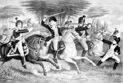 Washington's Dragoons at the Battle of Cowpens image. Click for full size.