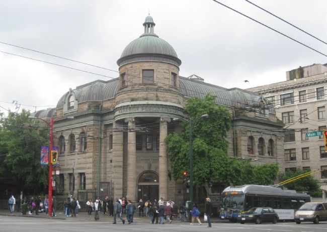 Vancouver Carnegie Library (2010) Photo, Click for full size