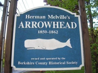 Herman Melville's Arrowhead image. Click for full size.