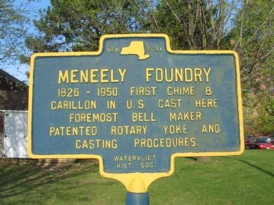 Meneely Foundry Marker image. Click for full size.
