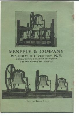 Meneely Foundry Promotional Literature image. Click for full size.