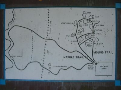 Indian Mound Park Trail Map image. Click for full size.