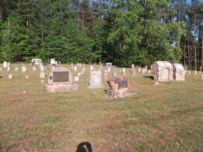 Cemetery at Cane Creek Meeting Photo, Click for full size