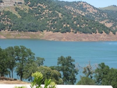 New Melones Lake and Carson Hill Photo, Click for full size