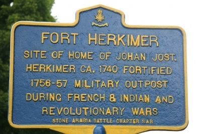 Fort Herkimer Marker image. Click for full size.